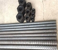 Solid threaded bar/post tensioning bar Dia40mm, PSB830 for railway construction