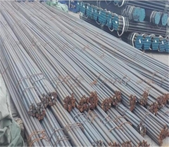 Solid threaded bar/post tensioning bar Dia36mm, PSB830 for railway construction