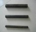 Solid threaded bar/post tensioning bar