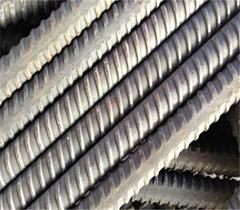 Solid threaded bar/post tensioning bar Dia50mm, PSB930 for railway