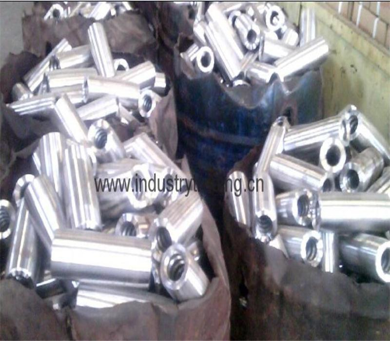 Solid threaded bar/post tensioning bar Dia50mm, PSB1080 for tunnelling   4