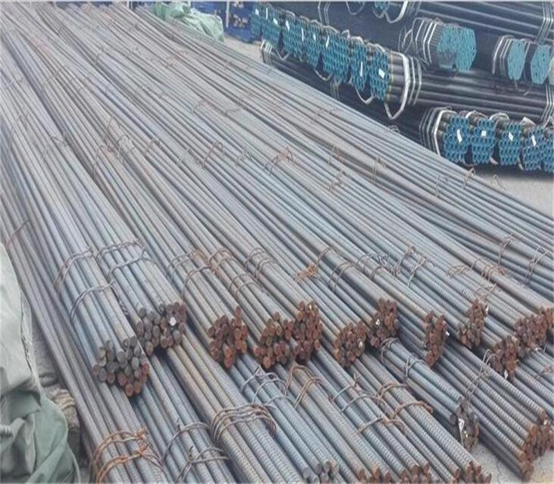 Solid threaded bar/post tensioning bar/thread screw bar for construction 4