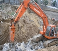 Hydraulic breaker chisel, MB1500, demolition tools