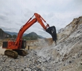 Hydraulic breaker chisel, SAGA210, demolition tools