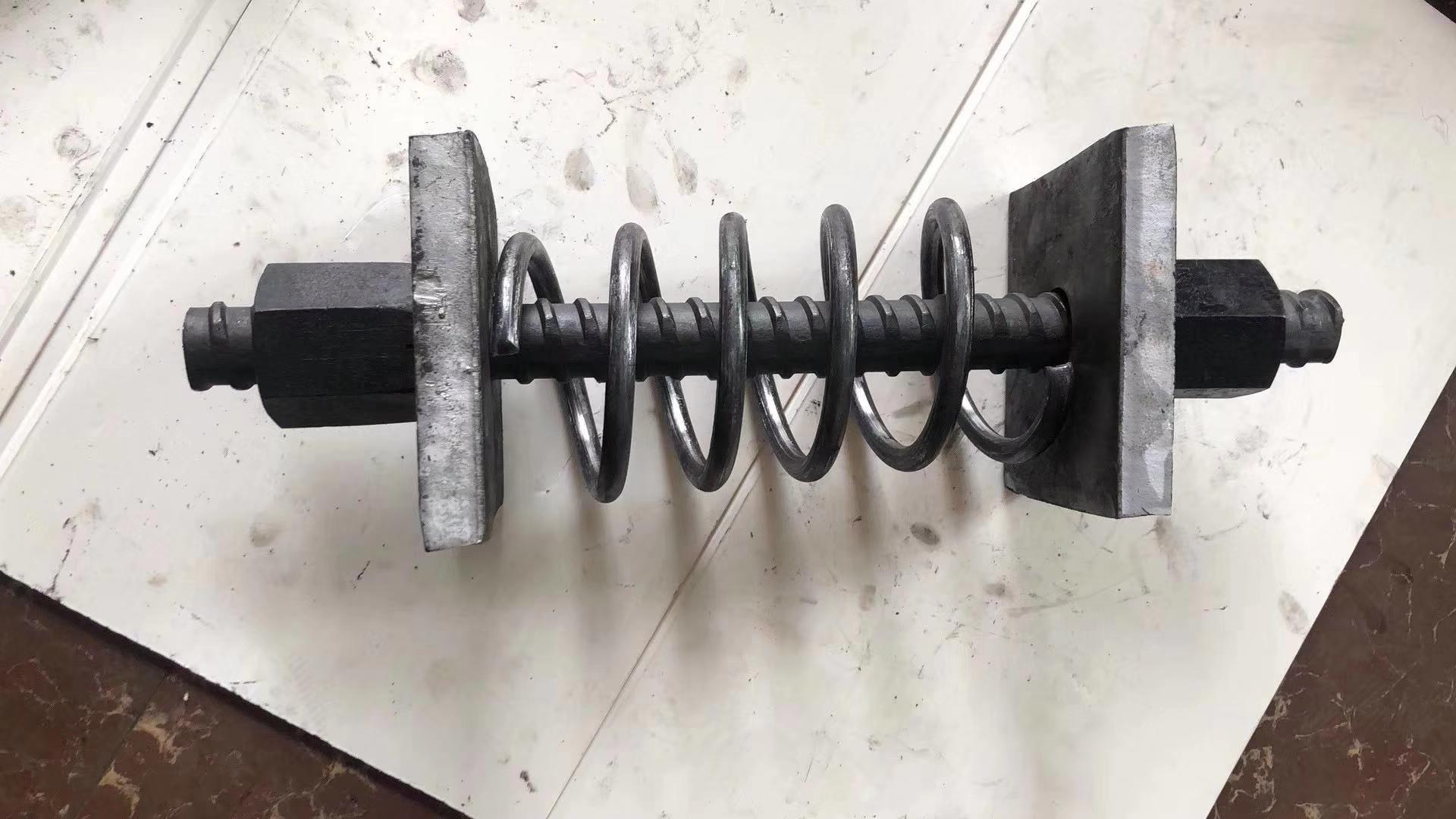 Solid full-threaded bar for engineering and construction 9