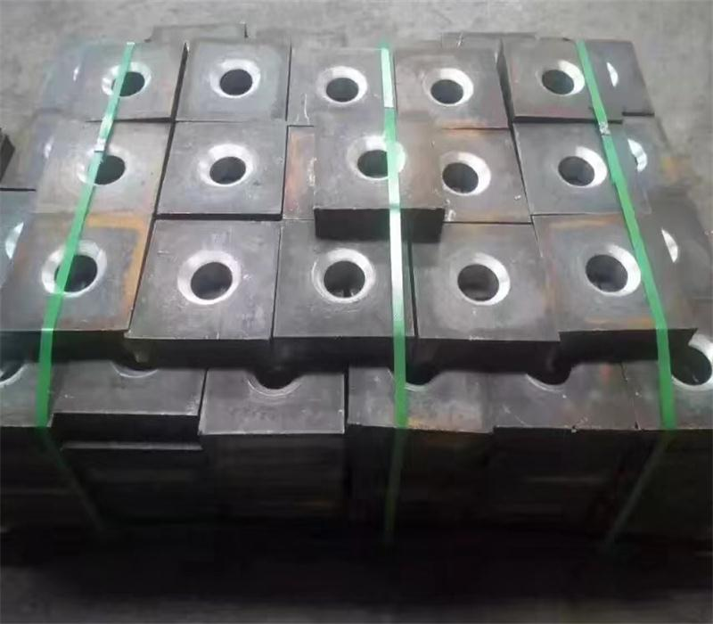 Nut, coupler and plate for post tensioning bar/solid threaded bar, engineering 13