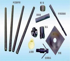 Self drilling anchor bolt R38 for geotechnical, civil engineering usage