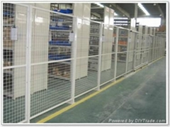 佰信供應護欄網,生產車間隔離柵
