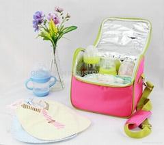 GS-F2101L Stylish Cooler Bag/ Insulated Bag/ Diaper Bag