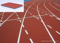 IAAF Certified Prefabricated Rubber