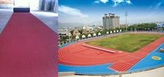 IAAF Certified Prefabricated Rubber Playground Running Flooring