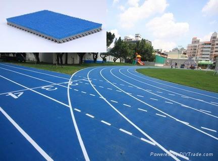 IAAF certified Prefabricated Athetlic Running Track 1