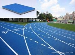 IAAF certified Prefabricated Athetlic Running Track