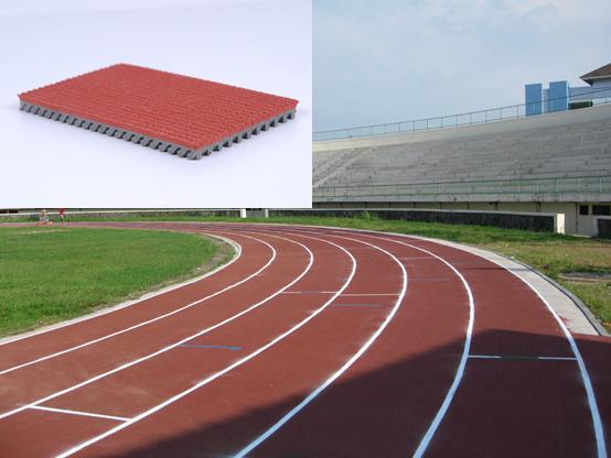 Outdoor Professional Floor For Running Field of Stadium 2