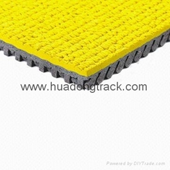 IAAF certified Rubber Flooring for Running Track