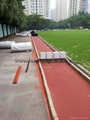 IAAF certified Rubber Flooring for Running Track 2