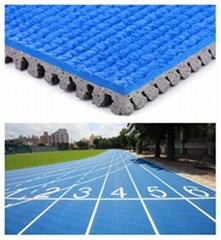 IAAF Certified Tartan Track For 400 Meter Standard Running Field