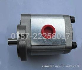 台湾铝合金油泵HGP-3A-F17R 1