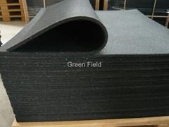 Gym rubber mat  rubber floor gym mat