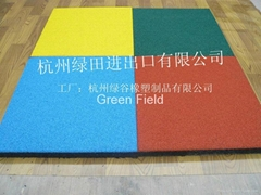 Playground EPDM rubber paver tile