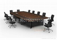 多媒体会议桌
