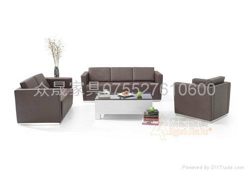 真皮办公组合沙发 1