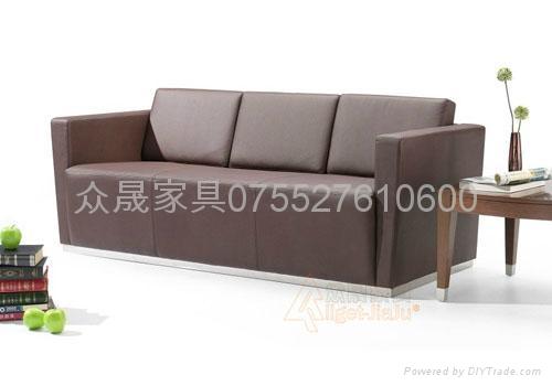 真皮办公组合沙发 3