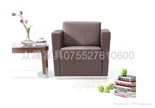 真皮办公组合沙发 4