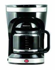 1000-1200W 1.5L(10-12cup) Drip Coffee Maker KM-605 (New)