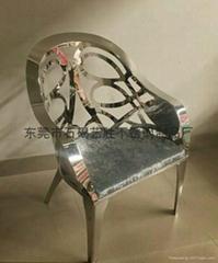 酒店不鏽鋼椅腳架