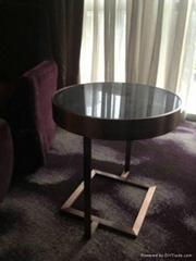 酒店不鏽鋼茶几架