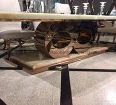 豪華酒店案桌不鏽鋼腳架