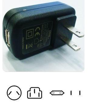5W USB接口电源转换器 1