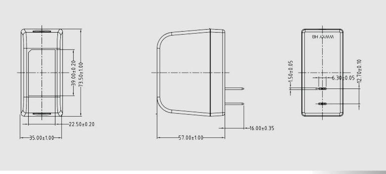 24W插墙式电源转换器 3