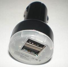 双USB车充