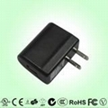 US type power charger, 5V, UL, FCC apprvovlas