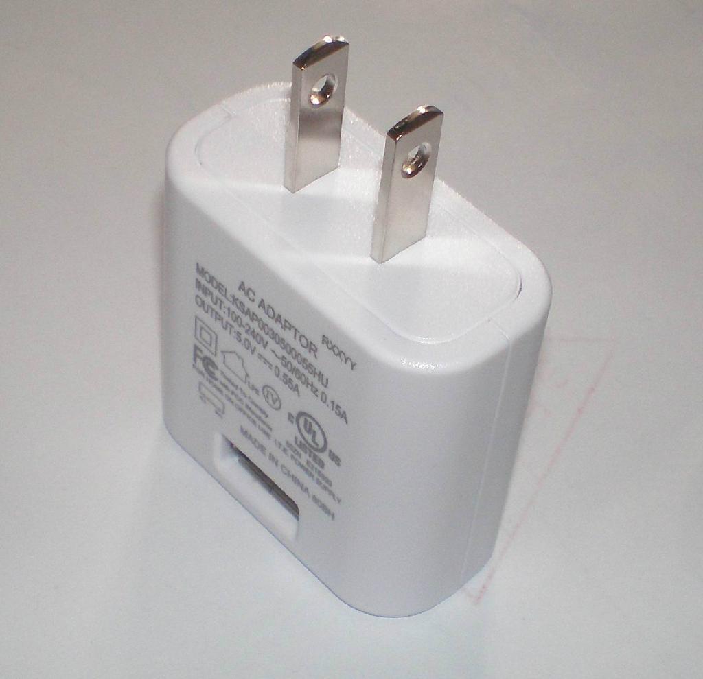 5V/550mA充电器 1