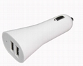 dual usb car charger for iphone, ipad