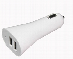 dual usb car charger for