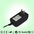 11W US plug wall mount power adaptor