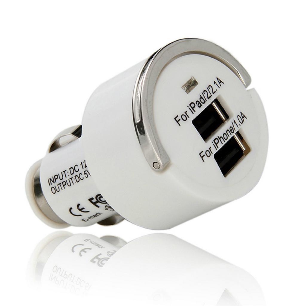 双USB车充,3.1A电流输出 2