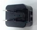 10W可轉換插頭充電器 USB