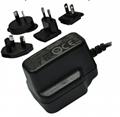 5W Series Multi-plug switching Adapter