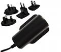 6W AC Adapter w/ worldwide AC Plugs,