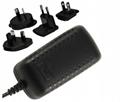 12~24V  Power Adapter, multi prongs,China adapter supplier