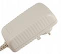 12V 25W Switching adapter, UK plug, GS