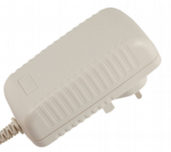 12V 25W Switching adapter, UK plug, GS,CE ROHS & CEC level 6