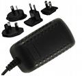 5~24V  Interchangeable AC Adapter, level