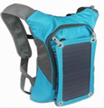 Solar  Backpack Bag for iphone6, 6S,