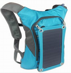 Solar  Backpack Bag charger for  iphone6, 6S, iPad